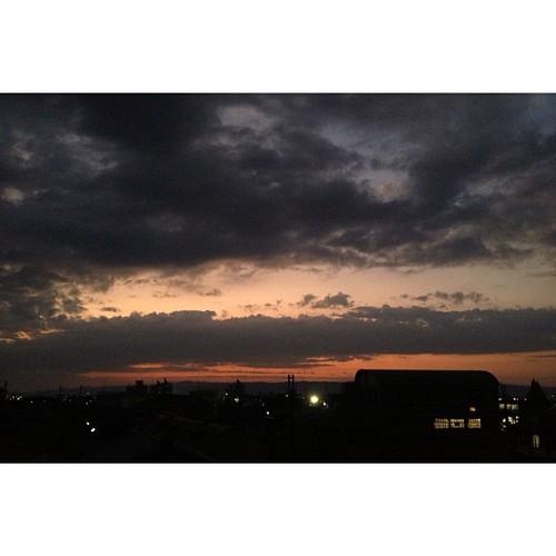 今日も一日、お疲れさまでした。 #sunset #iphonography #instagram #iphone4s