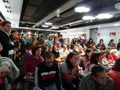 Sala de la FNAC - Castellana llena