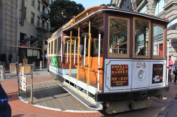 San Francisco cable cart