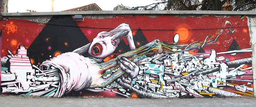 BRUSK & GRIS1 at POTOS CARRÉS jam / St Etienne