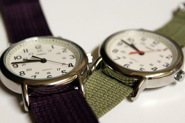 His & Hers Timex Weekender
