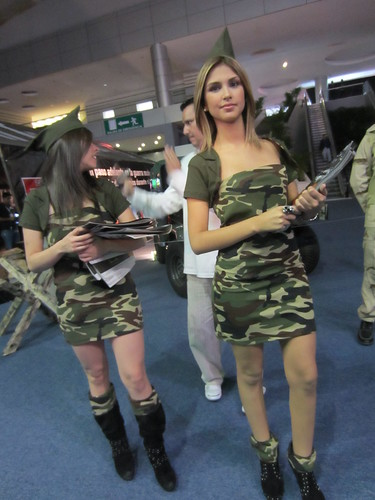 Edecanes Battlefield 3