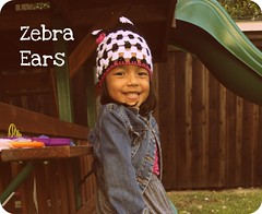 Zebra Chic - Ears