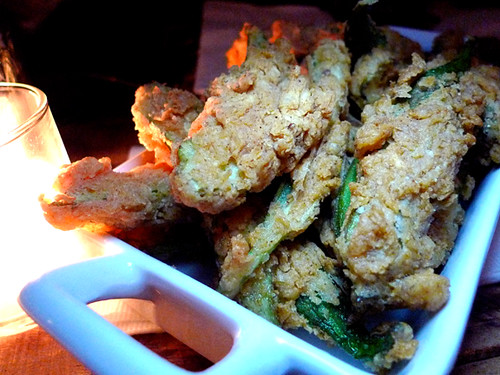 Fried Okra at Township