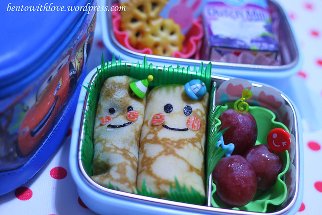 Skinny and Fat Crepe Bento