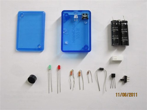 supercap light & tester parts