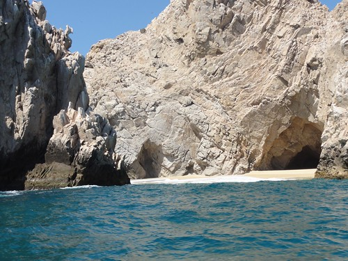 Scenes from glass bottom boat tour, Cabo by cubechick