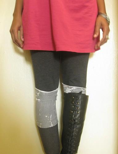 3.365: Funky Faux Socks!