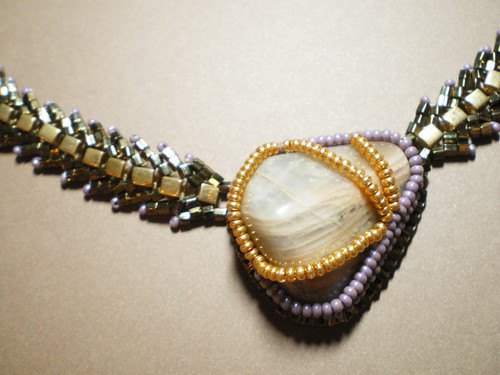 Queen of the Night Moonstone Necklace