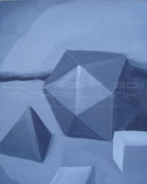 Polyhedron painting