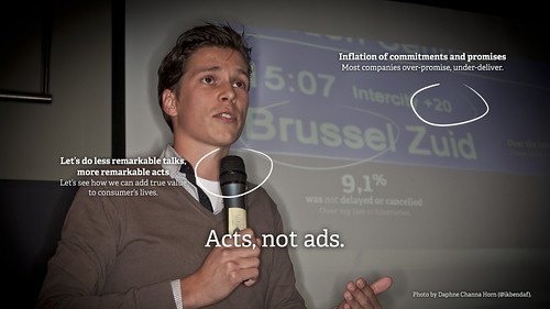 Acts, not ads.
