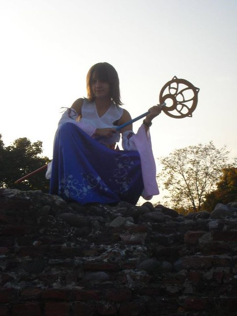 Yuna cosplay
