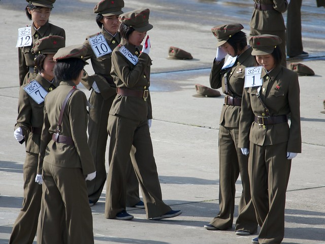 Marching Practice North Korea