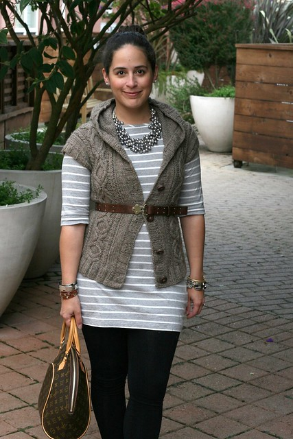 Knit Style: Heather Hoodie Vest