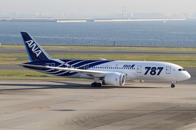 ANA B787-800(JA801A)
