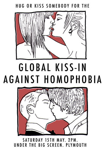 Global Kiss-in Homophobia poster 2