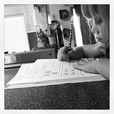 Homework time by kimberly.kalil