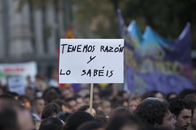Manifestación 15-O Madrid 25