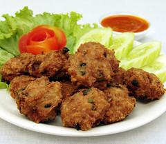 Fried pork balls | קציצות בשר מטוגנות