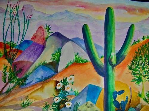 AZ Watercolors by WETCLOUD