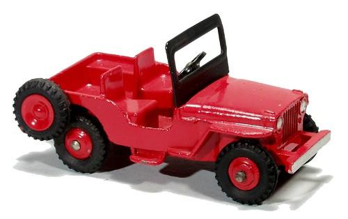 Dinky Jeep