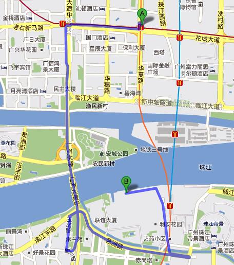 Guangzhou_Route