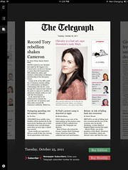 "ipad ios5 ""the telegraph"" app"
