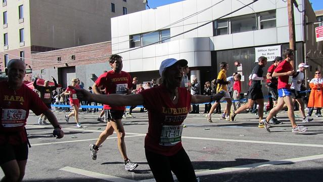 ingnycm2011. enthusiastic runner.