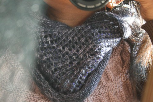 FO's:  Two Cowls for the coming Winter (5/6)