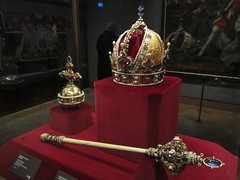 The Sceptre, Orb and Imperial Crown of Austria...