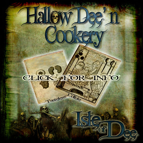 Isle of Dee Hallow'Dee'N Cookery Contest