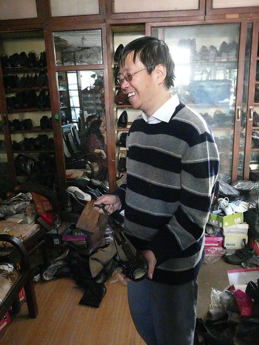 genial shopkeeper