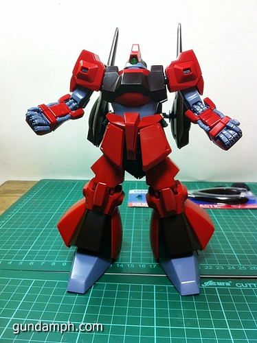 MG Rick Dias Quattro Custom RED Review OOB Build (39)