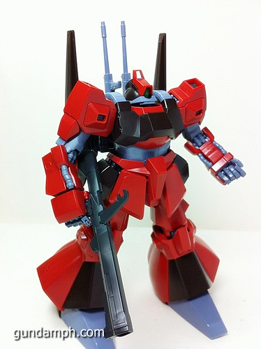 MG Rick Dias Quattro Custom RED Review OOB Build (46)