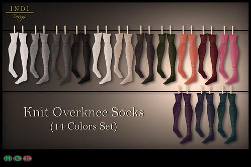 Knit Overknee Socks