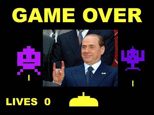 GAME OVER per Silvio by cristiana.piraino