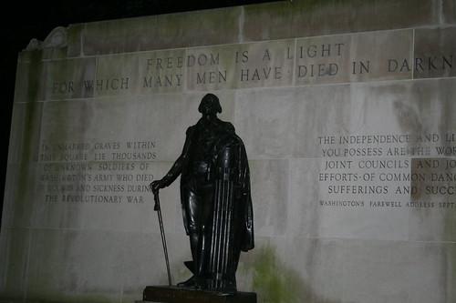 Washington Park memorial