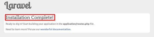 Laravel PHP Framework_install