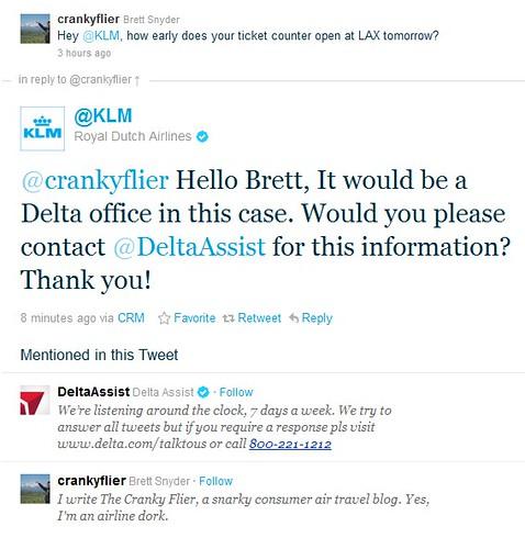 KLM Finally Responds