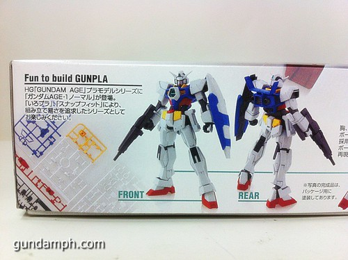 1 144 HG Gundam AGE-1 Normal Review OOB Build  (2)