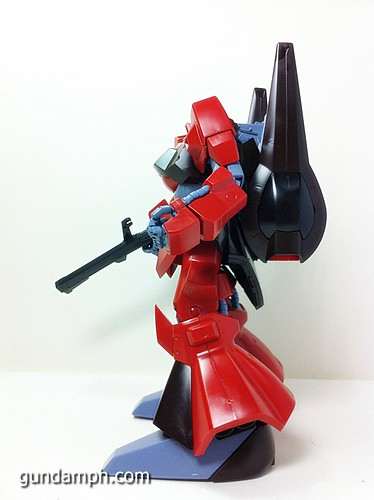 MG Rick Dias Quattro Custom RED Review OOB Build (44)