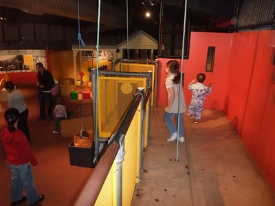 ScienceWorks Nitty Gritty Super City Construction