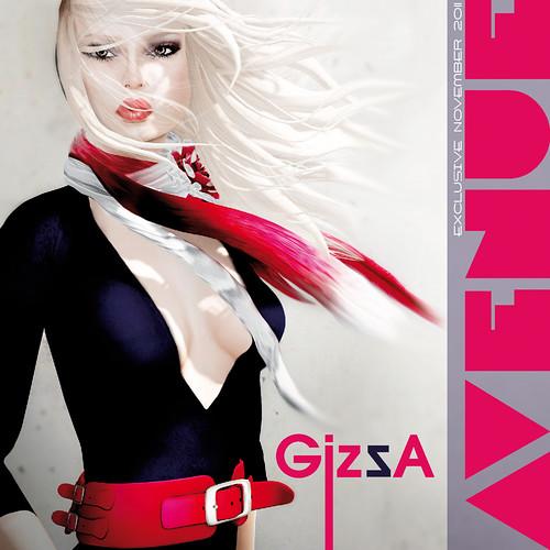 AVENUE Magazine November Exclusive - GizzA