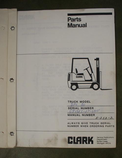 Clark Forklift Wiring Diagram 1983