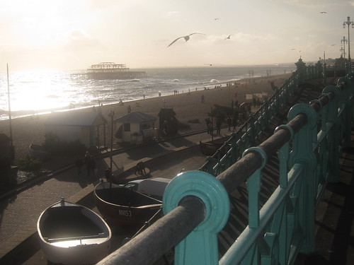 Brighton Beach Afternoon VI by Tom Fairfax