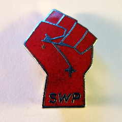 Socialist Workers Party membership badge