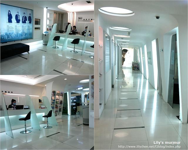 維育牙醫診所內觀,明亮乾淨,每個患者都有自己的獨立包廂。