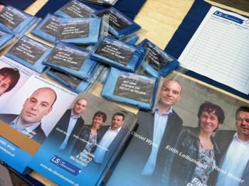 Die Liberalsozialen im Nationalratswahlkampf