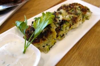 Zucchini & Feta Cakes