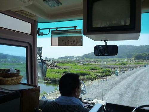 広田半島, 陸前高田でボランティア Volunteer at Rikuzentakata, Iwate pref, Deeply Damaged Area by Japan Quake